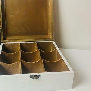 Cute little wooden jewellery storage box